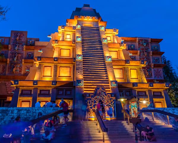Mexico in Epcot - Disney World Canvas | William Drew Photography