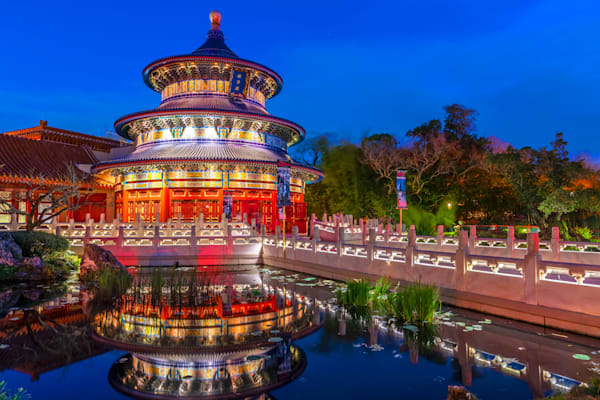 China Reflections - Pictures of Disney World | William Drew Photography