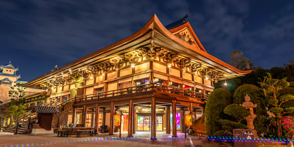 Japan's Teppan Edo Restaurant - Disney Canvas Art | William Drew Photography