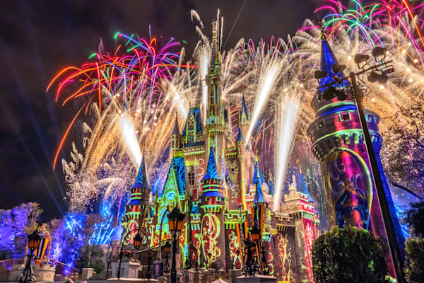 Happily Ever After Finale 7 - Disney Art | William Drew Photography