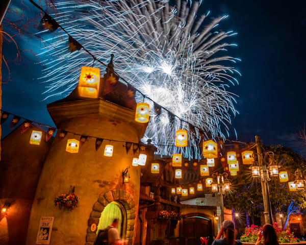 Disney's Tangled Fireworks - Magic Kingdom Images | William Drew