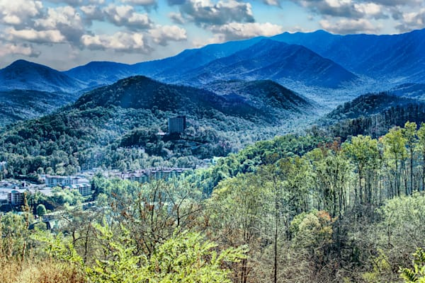 Gatlinburg Hope #2 Art | Artist David Wilson