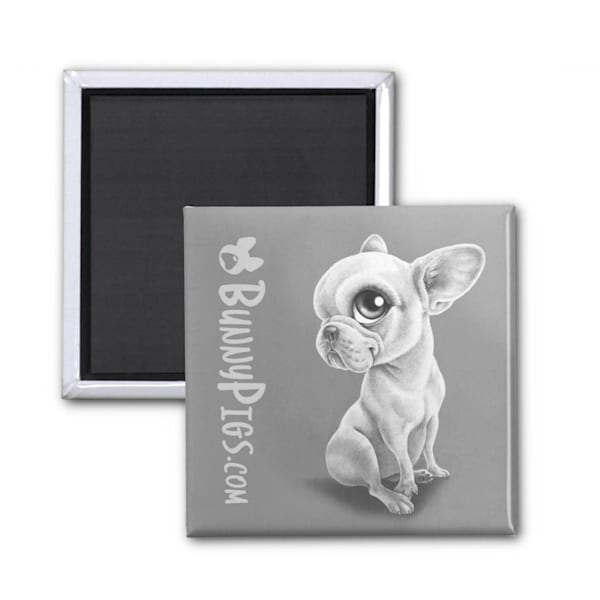 Adorable French Bulldog magnet gift