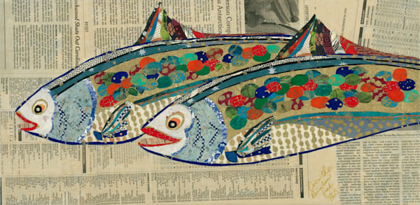 Two Fish Art | capeanngiclee