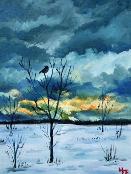 After the Snow Fine Art Print By Hilary J. England