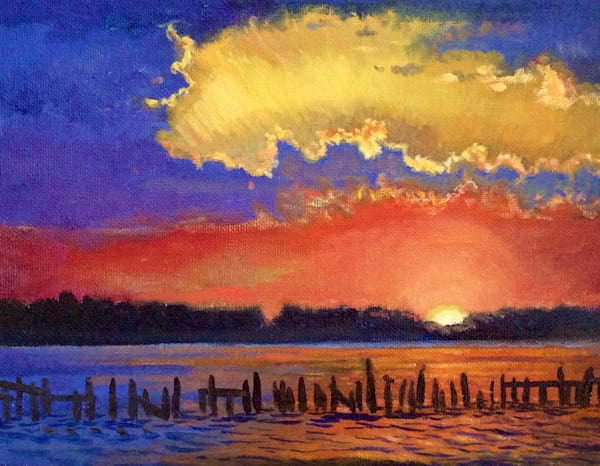 Twilight Over the Bay Fine Art Open Edition Print