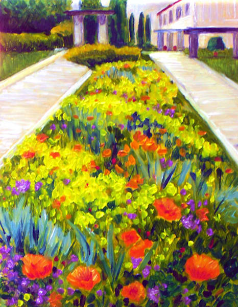 Flower Garden in Nice France Fine Art Open Edition Print