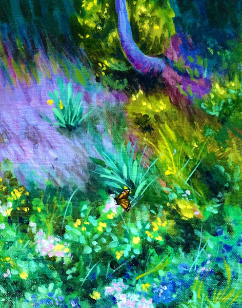 Monarch on the hillside Fine Art Open Edition Print