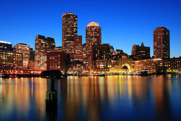 Boston Aglow, by Rick Berk