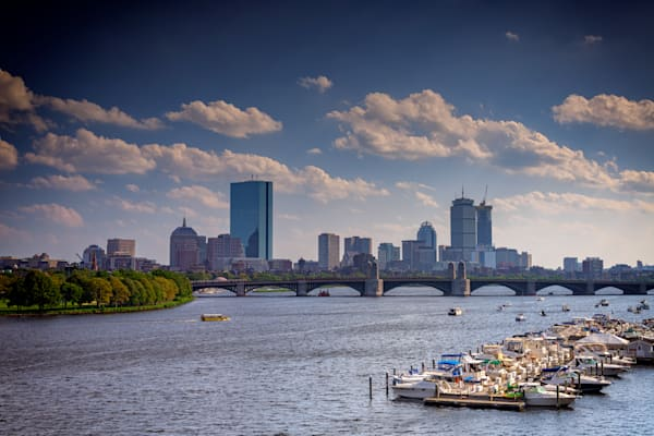 Summer Day on the Charles River by Rick Berk