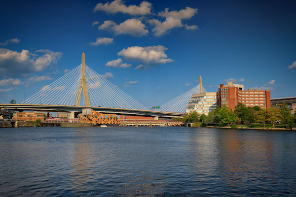 Summer Afternoon at Zakim Bridge by Rick Berk