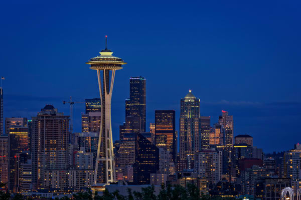 Seattle Twilight by Rick Berk