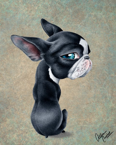 Side Eye Sour - fine art print with digital editing by artist Allison Cantrell