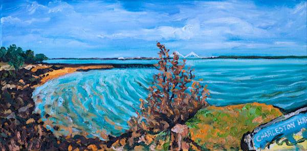 Charleston Harbor | oil on canvas