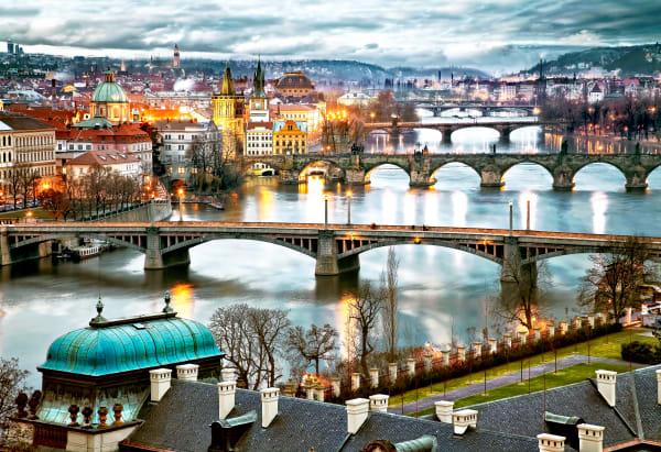 Bridges Of Prague  Photography Art | Images by Louis Cantillo