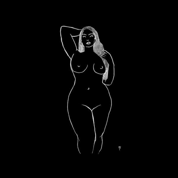 Woman I (Black)