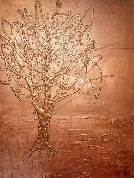 Copper on Copper by Briar Emond | SavvyArt Market Original Art