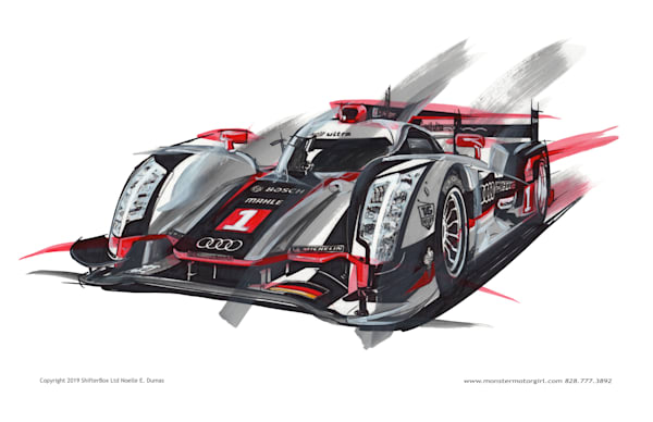 Audi formula racer