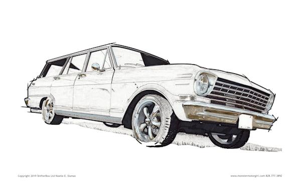 Chevy Nova Wagon Hot rod