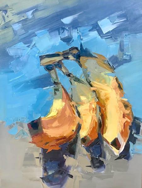 Bananas Abstract Painting