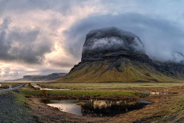 Mt Lomagnupur   South Iceland Photography Art | Will Nourse Photography