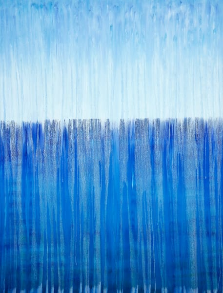 Rainy Moment 13 - Open Ocean Rain by Rachel Brask