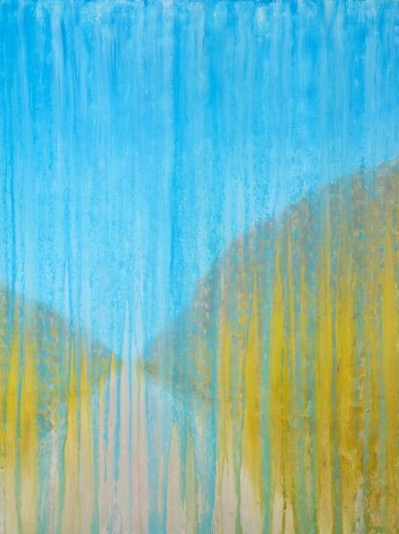Rainy Day Dune Path By Rachel Brask Art | Rachel Brask Studio, LLC