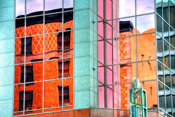 City Corner Reflections
