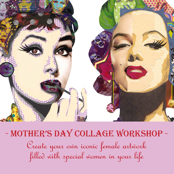1 DAY WEEKEND COLLAGE WORKSHOP May 5th