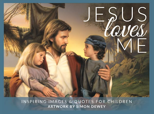 Simon Dewey - Jesus Loves Me minicard pack