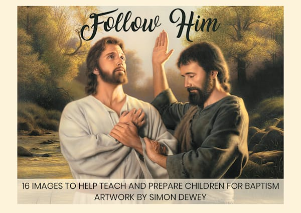 Simon Dewey - Follow Him minicard pack