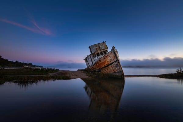 Point Reyes Ship Wreck Fine Art Photography Print