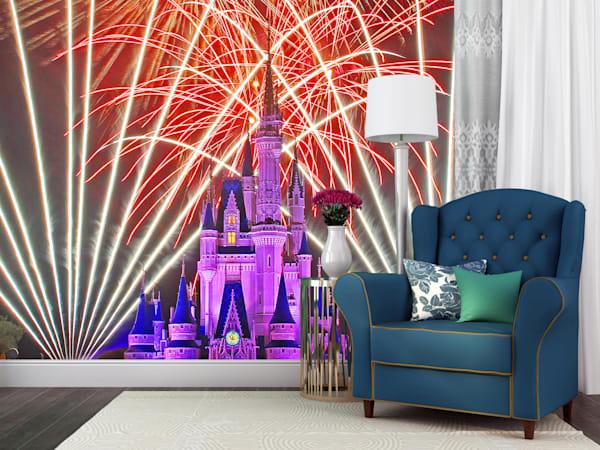 Cinderella's Castle Wishes - Disney Wall Mural | William Drew