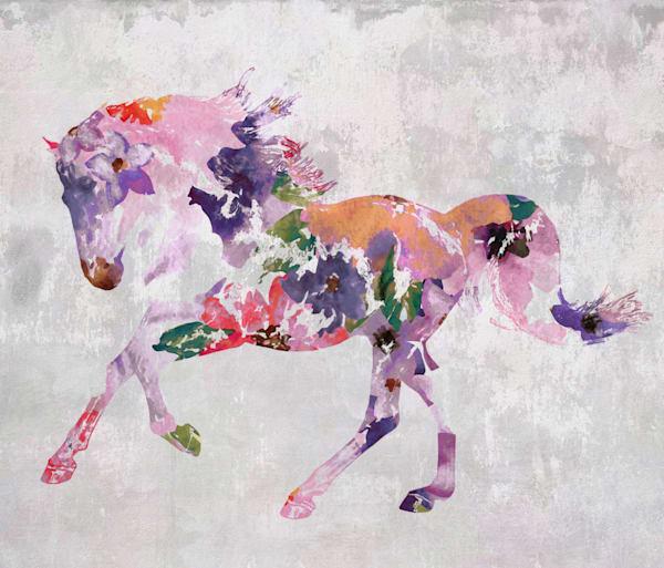 Horse painting Boho