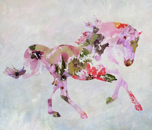 Horse painting BOHO 3