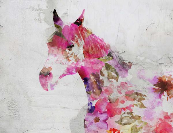 Fabulous Floral Horse 2