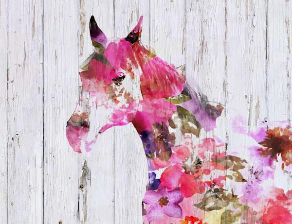 Fabulous Floral Horse 3