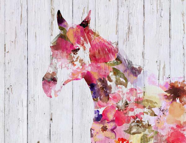Fabulous Floral Horse
