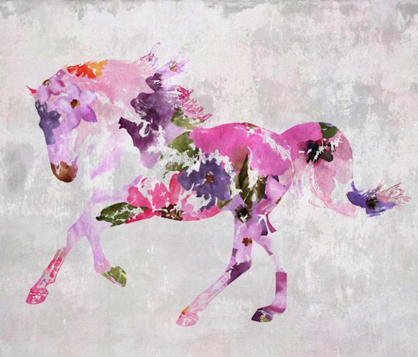 Horse painting BOHO 2