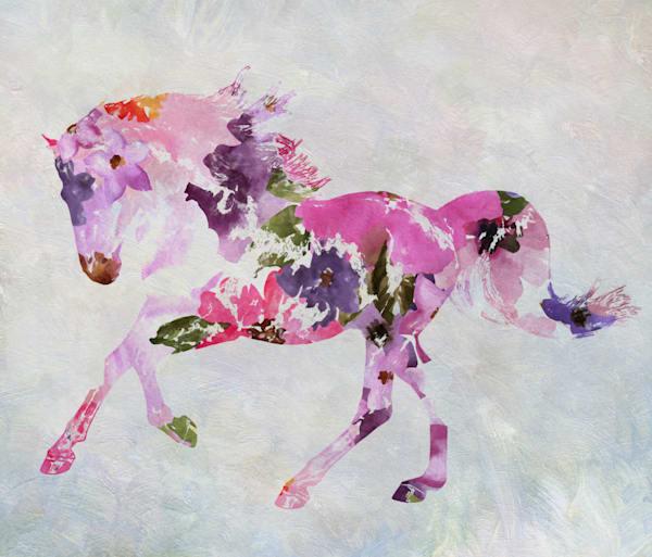 Horse painting BOHO 4