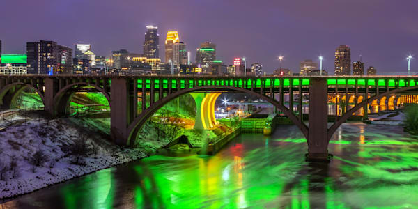Minneapolis Saint Patricks Day - City Art | William Drew
