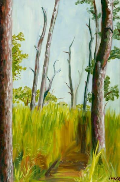Into The Woods   Original Painting Art   OPV Art, LLC