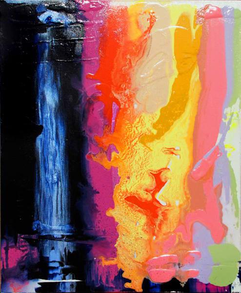 Two Worlds Original Art   Joan Marie Art