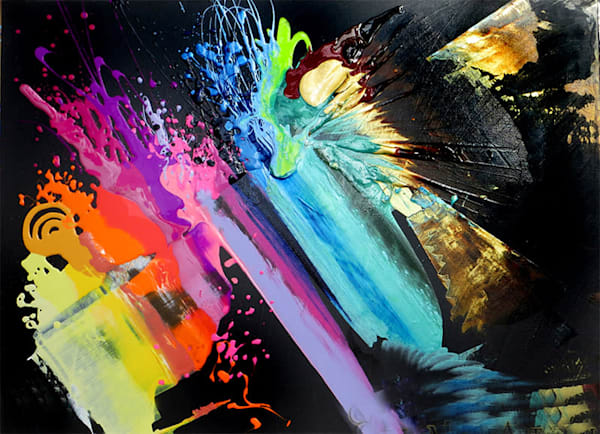 Glisten Original Art | Joan Marie Art