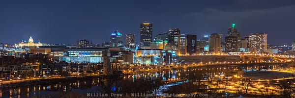 Saint Paul on Saint Patrick's Day - Cityscape Wall Murals