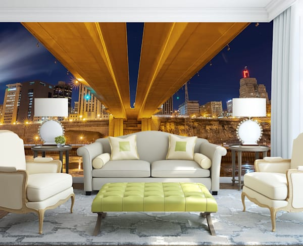 Wabasha Saint Paul - Skyline Wall Murals | William Drew