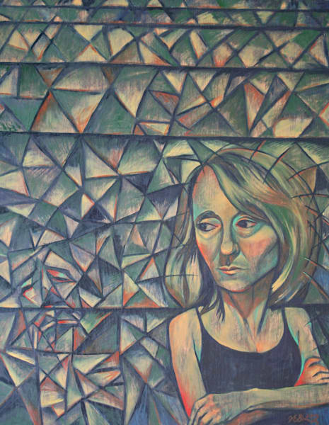 """Inner Voice"" - Original art oil painting"