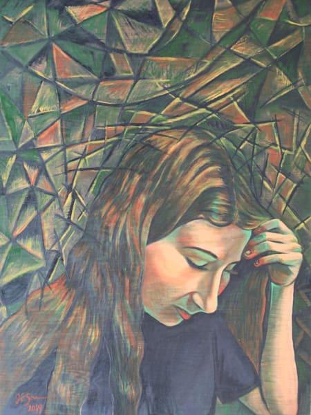 """Halcyon"" - Original art oil painting"