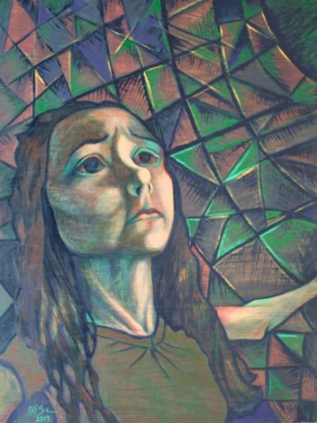 """Abide"" - Original art oil painting"