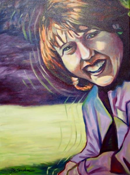 """Julie"" - Original art oil painting"